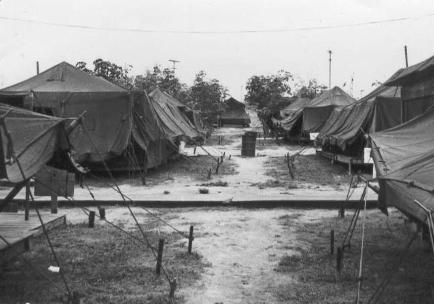 Above And Below - The Early Years At Camp Camelot - Only Tents Then