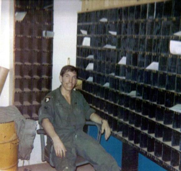 368th Mail Room - SP4 Sanville