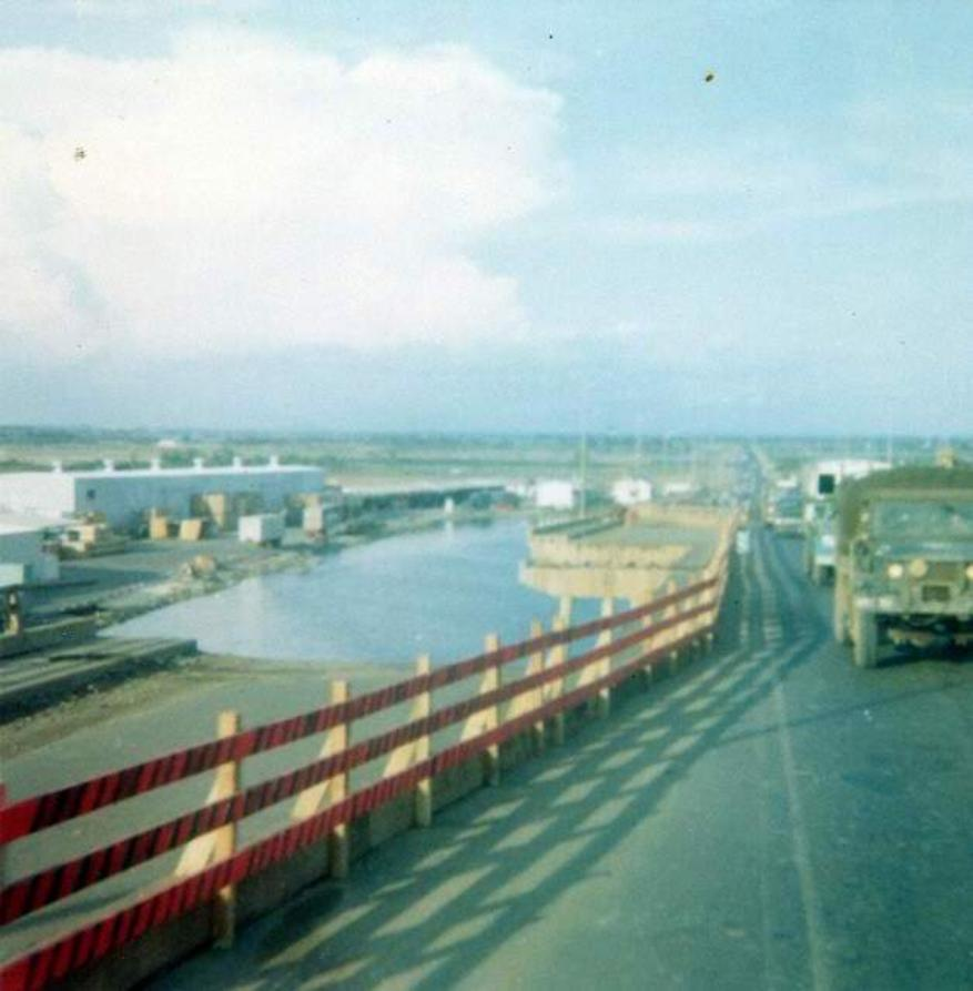 Section Of The Newport Bridge Blown Out During The May 12th 1968 Attack