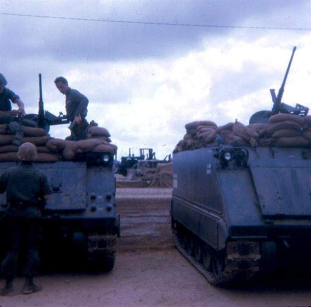 Preparing Our APC's For The Night After TET