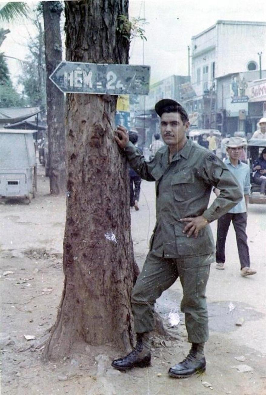A Day Off In Bien Hoa - May 1967