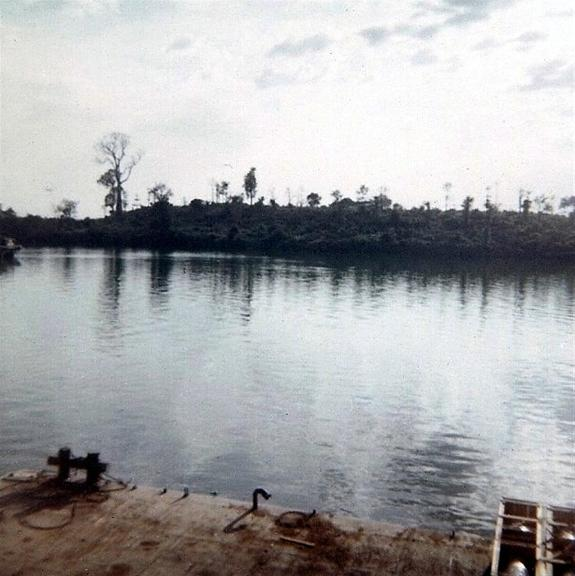 Looking Across The River From The Bien Hoa Site
