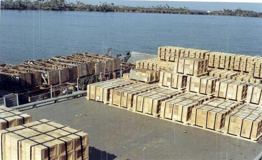 Ammo And Napalm - We sure unloaded a lot of this stuff.