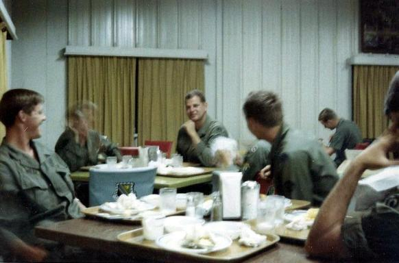 Breakfast At The Bien Hoa Air Base