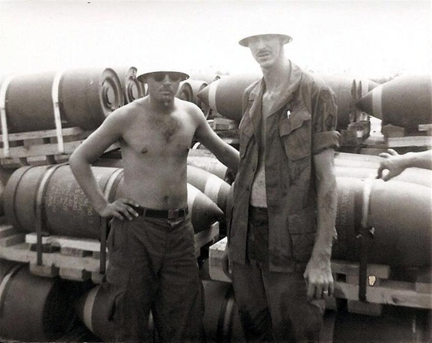 Buddy And C.W. Wearing Napalm Top Hats