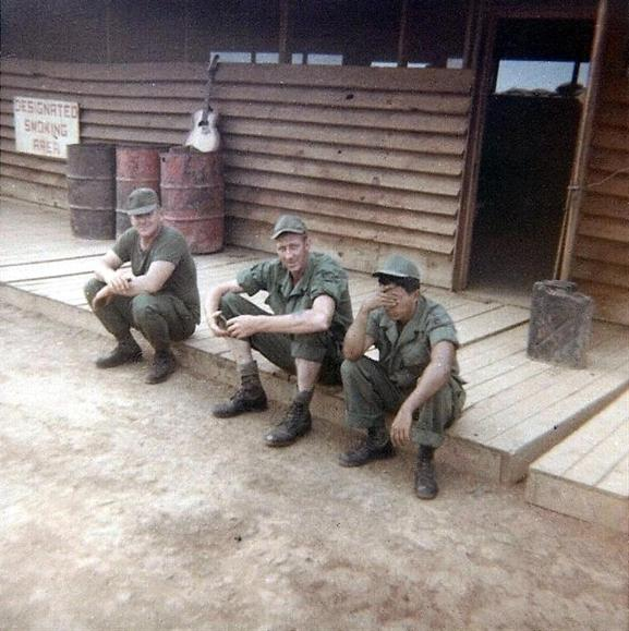 Cooling Down After Hard Days Work At The Bien Hoa Site