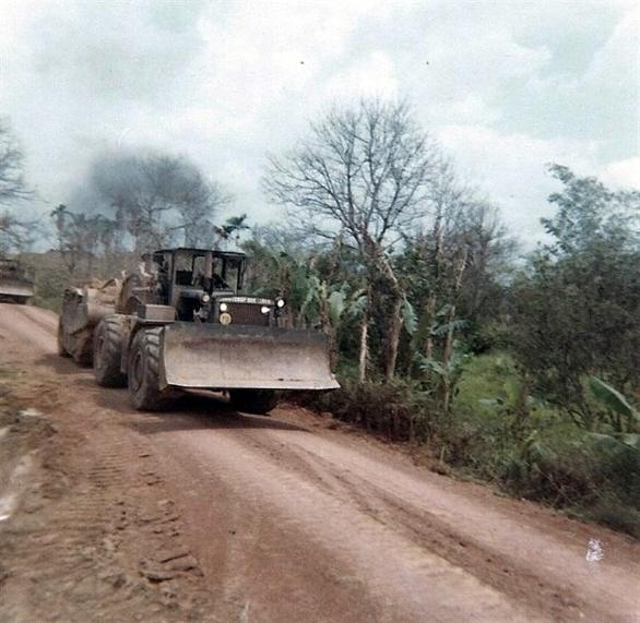 Equipment Used To Build Some Of The Roads To The Bien Hoa Site