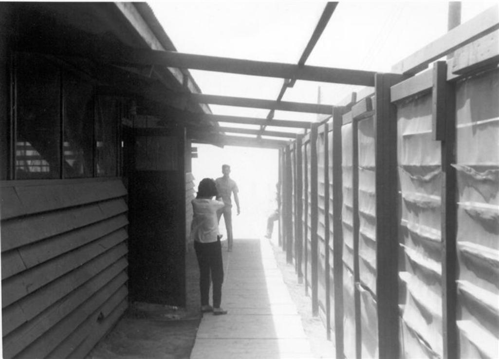 Breezeway At The Mess Hall - My Hootch - Check Out The Fridge And All The Steel Pots