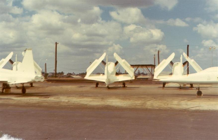 Aircraft that we unloaded for the ARVN Air Force.