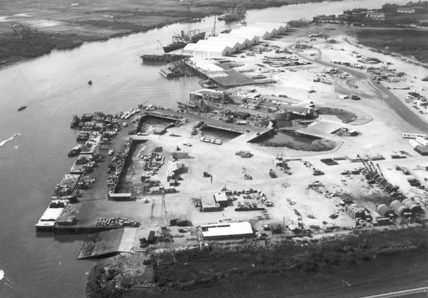 Newport Terminal - Early 1967
