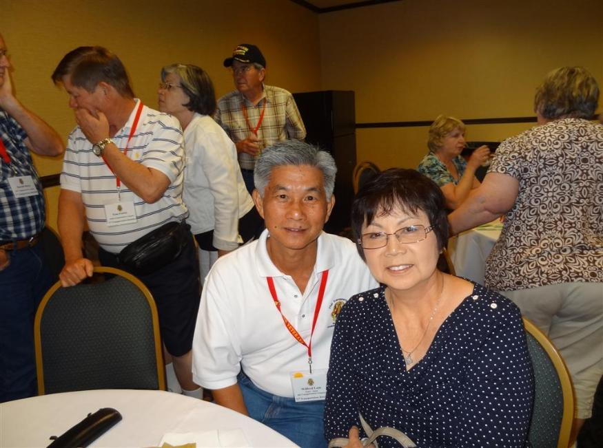 Wilfred & Thelma Lam - Photo courtesy of Tom & Lilia Poston.