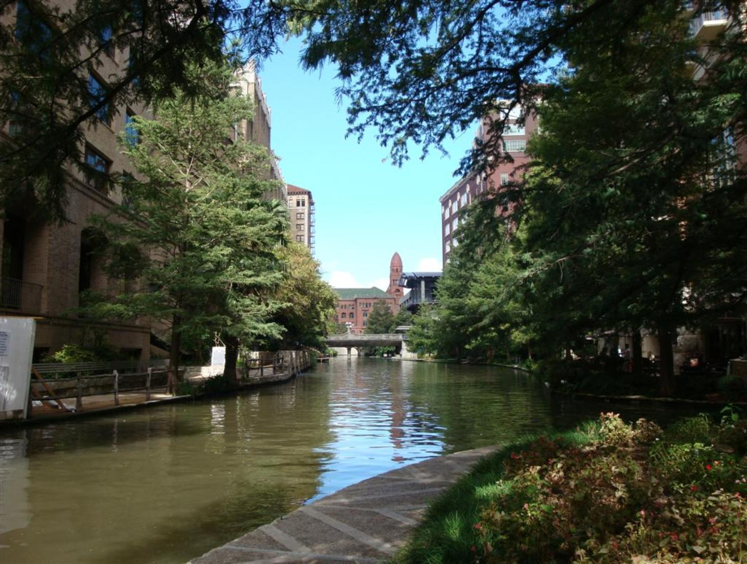 The Beautiful San Antonio River Walk -  In The  Quiet Early Morning - Photo courtesy of Al & Carol Furtado