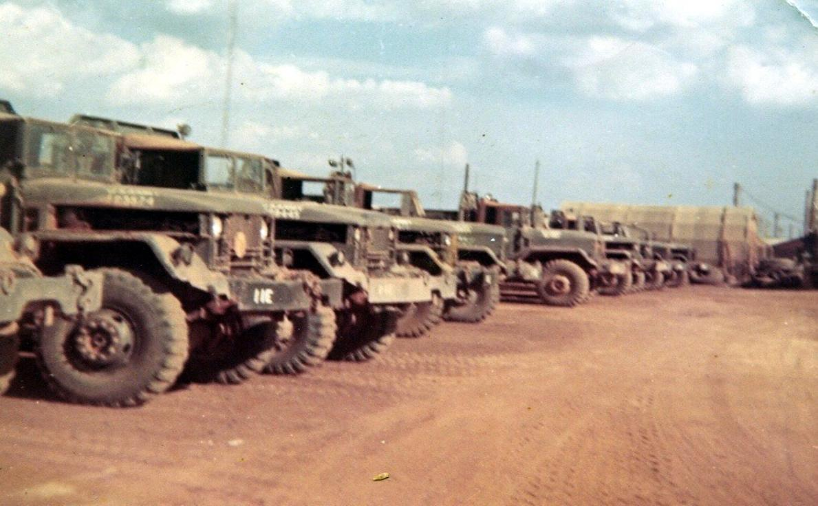 Supply Vehicles At Camp Camelot