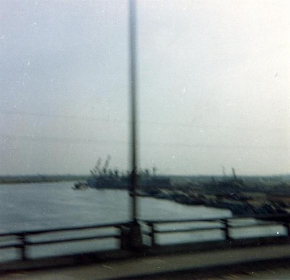 View of Newport from the Bridge