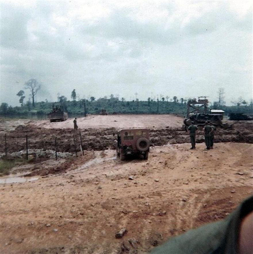 Foundation For Bien Hoa Barge Site