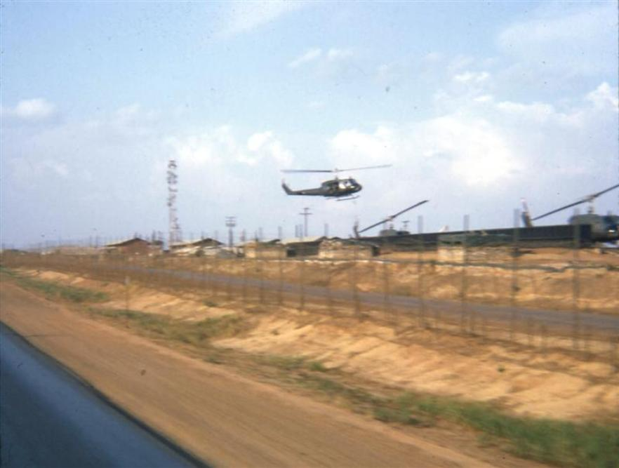 Long Binh Post II Field Force Chopper Landing Pads