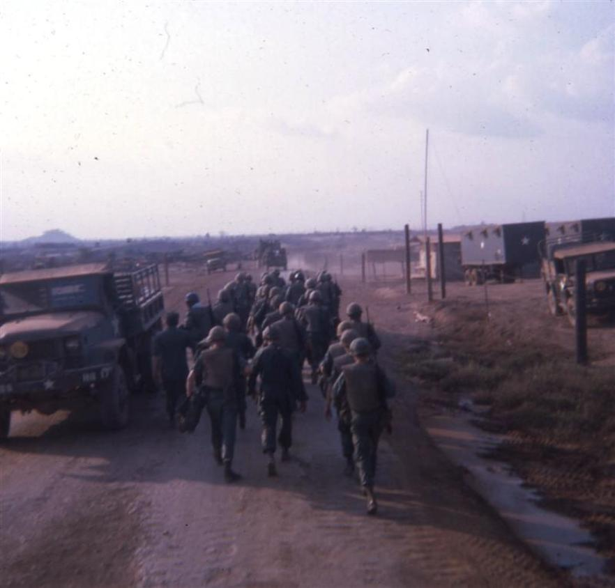 277th Guards Being Posted On Long Binh Post