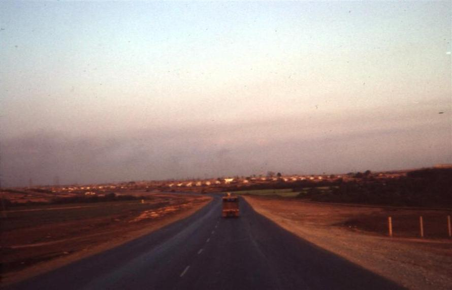Highway 1-A - Approaching Long Binh Post - February 1968