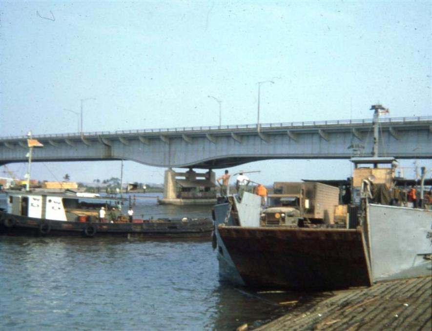 Barge Site Slip - March 1968
