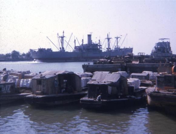 Newport Barge Site - 1968