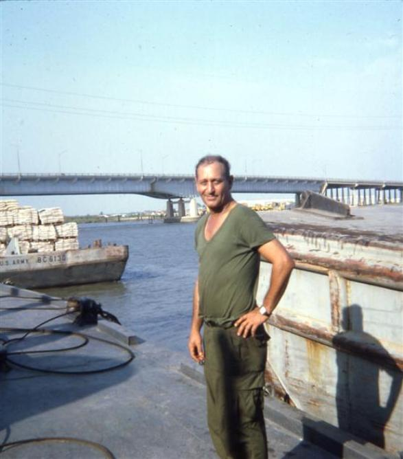 Sgt Rooch - Barge Site - February 1968