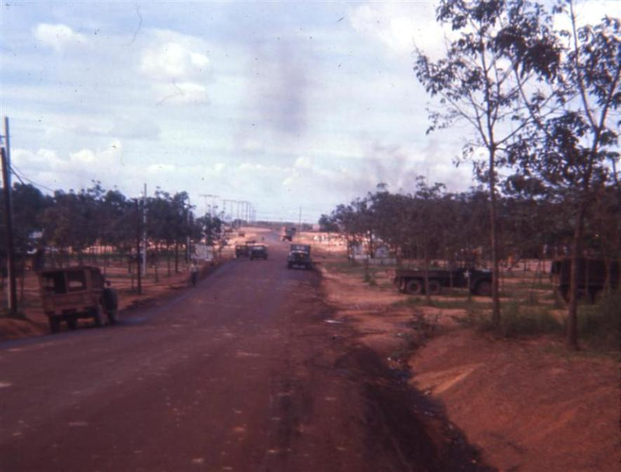 Road In And Out Of Camp Camelot - 1967