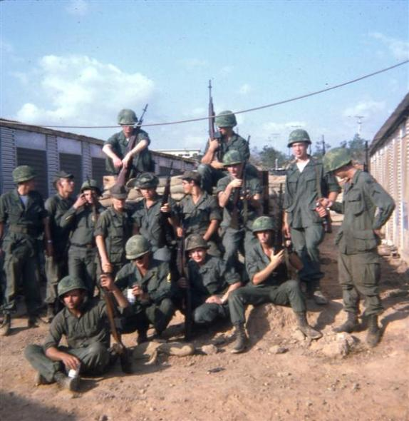 368th Platoon Morning After Tet - February 2, 1968
