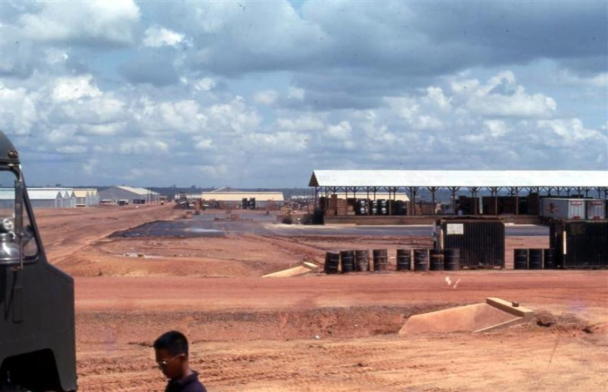 Construction Of The New 506th Depot At Long Binh Post - August 1968 - Move Completed July 1969