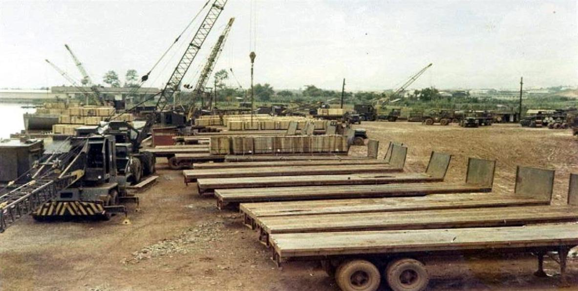 Above - Loading Trucks With Napalm - Heavy Day At The Site