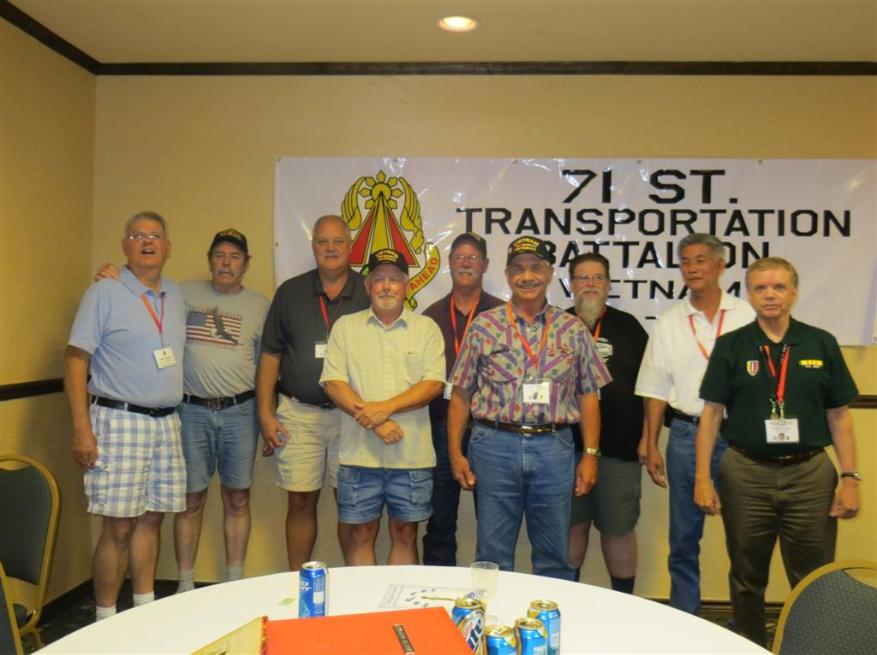 402nd  TC Members - Tom Reckers - Stan Chisholm - Rick Rawlings - Randy Richmond - Jim McCormick - David Stromberger - Jim Tlougan - Wilfred Lam - David Covert - Photo courtesy of Bob & Bernie Grier.