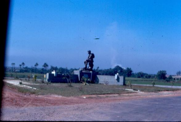 The Resting Soldier Near The ARVN National Cemetery