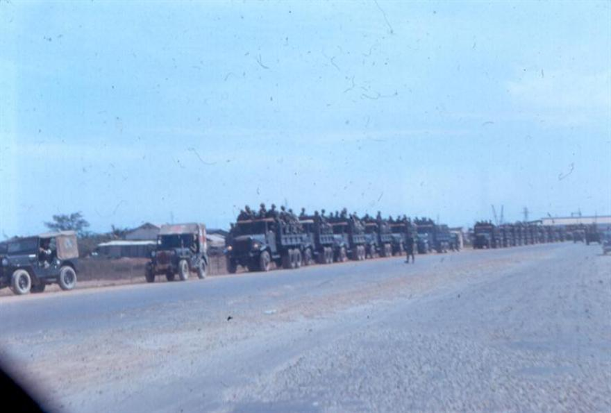 Looks like the ARVNs are lined up for a big mission - January 1968.