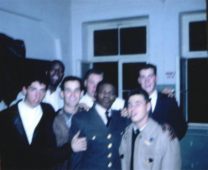 im And Some Of The Guys At Fort Meade - Photo is a little blurry but you still may be able to recognize someone.
