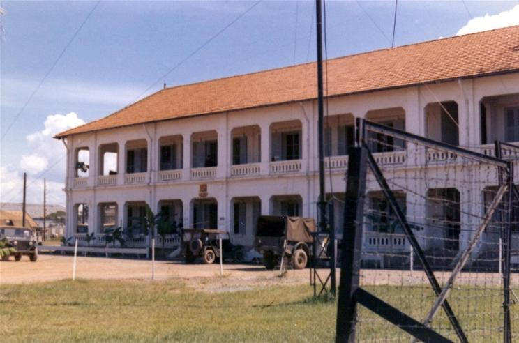 Cat Lai - Headquarters Building - 159th Transportation Battalion