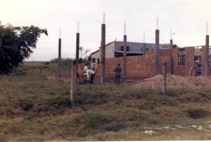 New House Going Up In Tam Heip