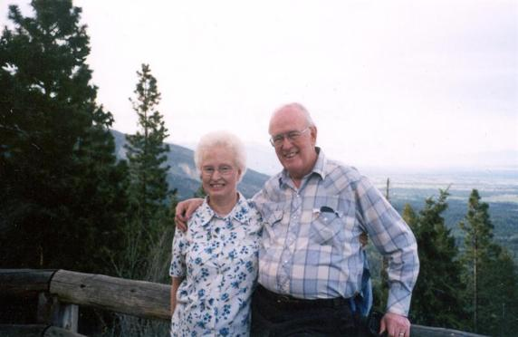 Pastor Park With His Wife Mary - 2004