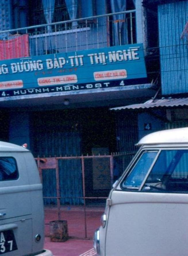 Baptist Mission In Saigon - We had Med-Cap here.