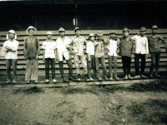 Some Of The Local Vietnamese Work Force At Camp Camelot