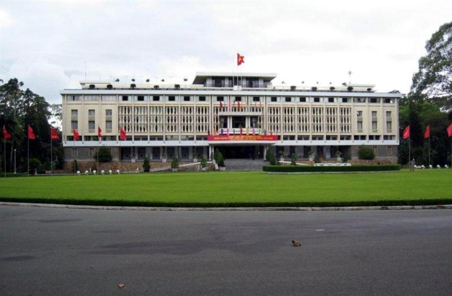 Reunification Palace - Former Presidential Palace