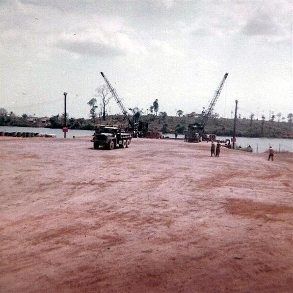 Work Continues On The New Bien Hoa Barge Site