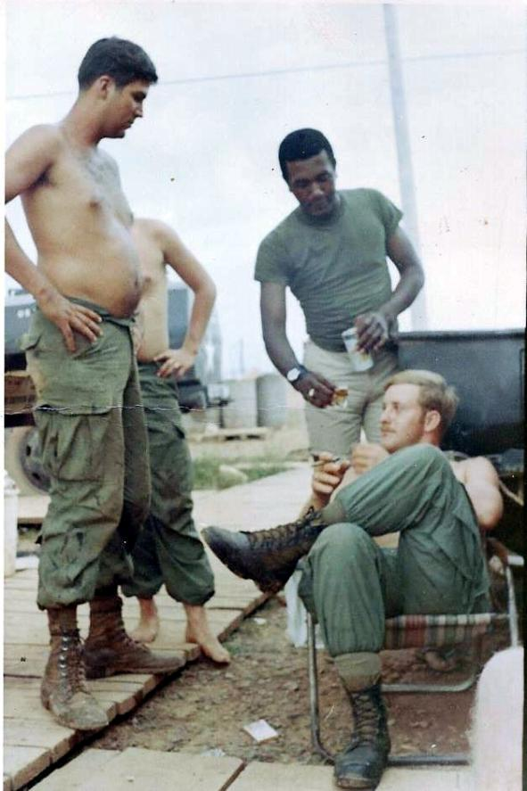Platoon Party - Reid - Sweet - Tidwell - November 1968