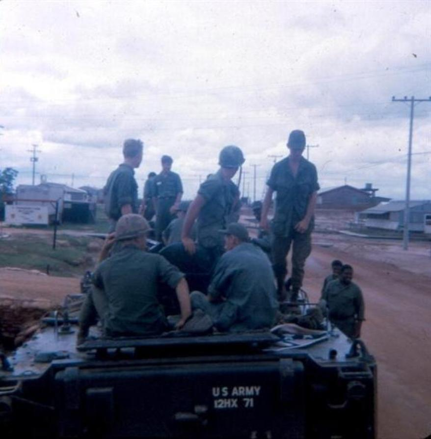 August 1968 - Outside The Front Of The Mess Hall