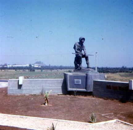 Tomb Of The ARVN Unknown Resting Soldier