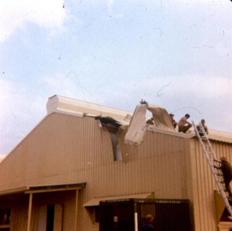 Damage To Administration Buildings