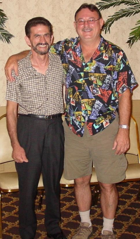 Al Furtado & Rich Morawa - 2006 Long Binh Reunion - Louisville, KY - September 2006