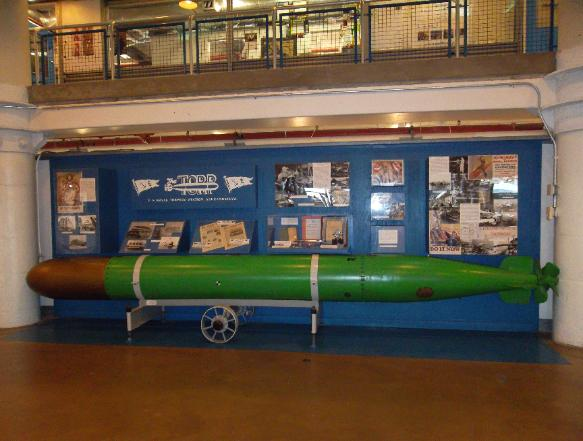 Old Torpedoes On Display