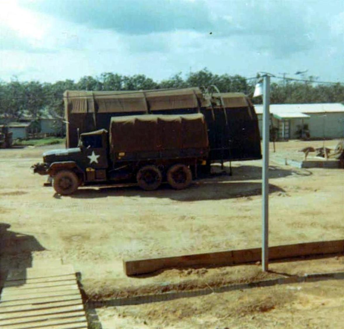 402nd Company Maintenance Area At Camp Camelot