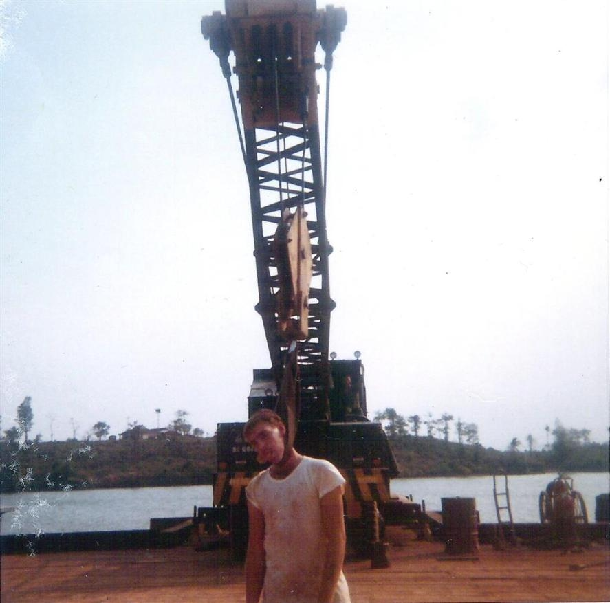 Stan Chisholm Hanging Around At The Binh Hoa Site