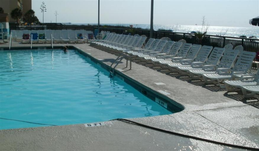 One of the LandMark swimming pools - Photo courtesy of Tom & Vickie Reckers