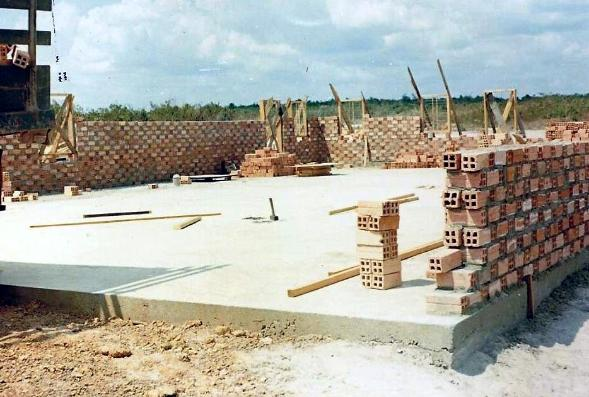 The Orphanage At Honai Under Construction - 1969